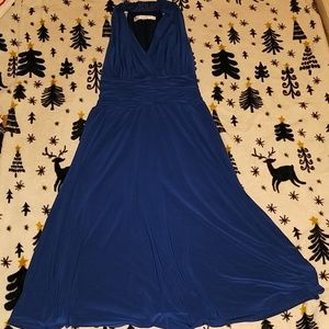 Evan-Picone Blue Casual Dress